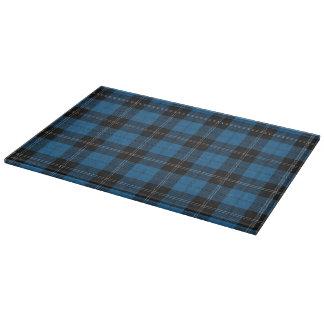 Scottish Clan Ramsay Ramsey Blue Hunting Tartan Cutting Board