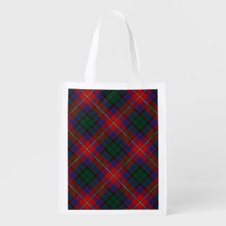 Scottish Clan Rattray Family Tartan Reusable Grocery Bag