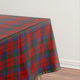 Scottish Clan Robertson Donnachaidh Tartan Tablecloth