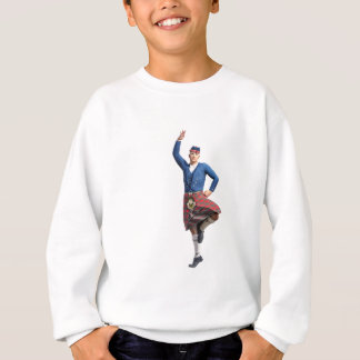 Scottish Dancer with Right Hand Up Sweatshirt