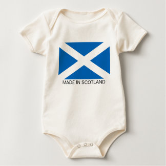 Scottish Flag Baby Bodysuit