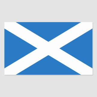 Scottish Flag Rectangular Sticker