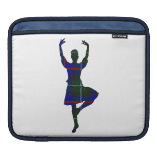 Scottish Highland Dancer double-sided Sleeves For iPads