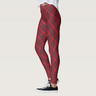 Scottish Royal Stewart Tartan Pattern Leggings