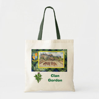 Scottish Tartan, Clan Gordon Tote Bag