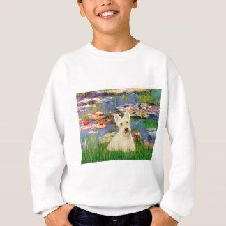 Scottish Terrier (W5) - Lilies 2 Sweatshirt