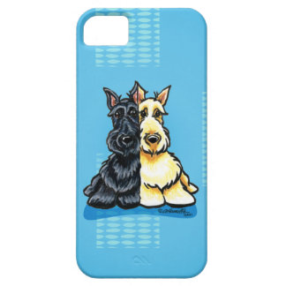 Scottish Terriers Two of a Kind iPhone 5 Covers
