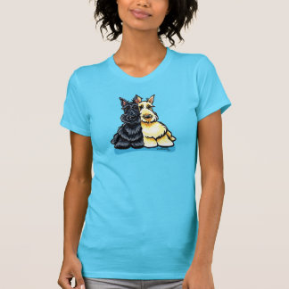 Scottish Terriers Two of a Kind Shirts
