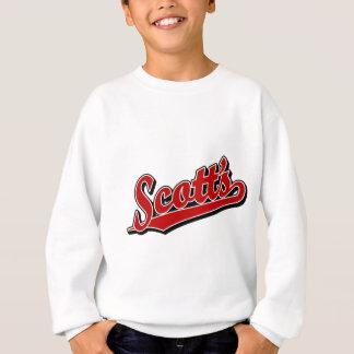 Scott's in Red Sweatshirt