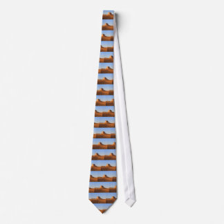 Scottsbluff Nebraska Farming Harvest Fall Sunset Tie