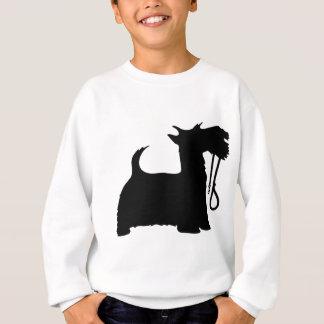 Scotty Dog and Leash Sweatshirt