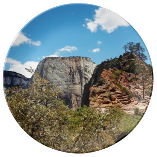 Scout Lookout Zion National Park Utah Plate