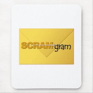 SCRAM gram Mousepad Vertical w Envelope