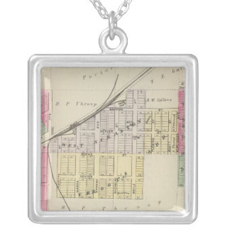Scranton, Osage County, Kansas Silver Plated Necklace
