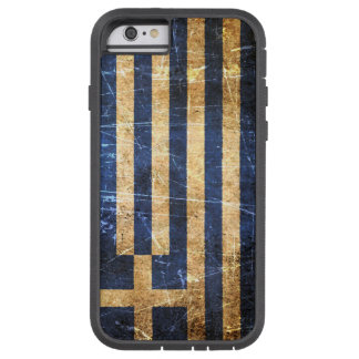 Scratched and Worn Vintage Greek Flag Tough Xtreme iPhone 6 Case