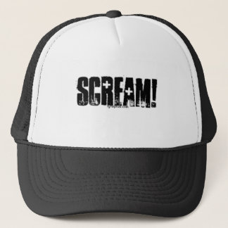 SCREAM TRUCKER HAT