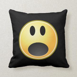 Screaming Emoticon Cushion