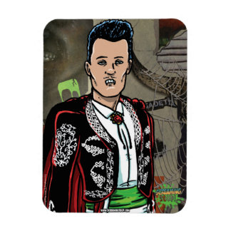 SCREAMING SOUP! Mexican Dracula Magnet