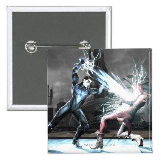 Screenshot: Nightwing vs harley 15 Cm Square Badge