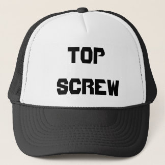 SCREW BALL PRODUCTS TRUCKER HAT