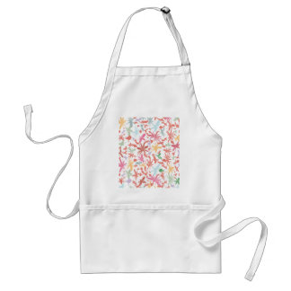 Scribble Flowers Aprons