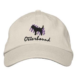 Scribbled Otterhound Embroidered Hat