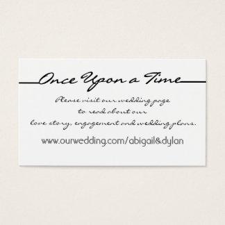 """""""Scribbles"""" Wedding Website Cards"""