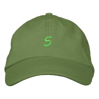 Script-Number 5 Embroidered Cap