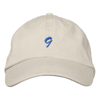 Script-Number 9 Embroidered Hat