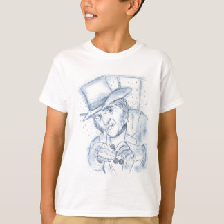 Scrooge in Blue T-Shirt