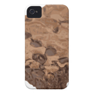 Scrumptious Brownie Sweet Dessert iPhone 4 Covers