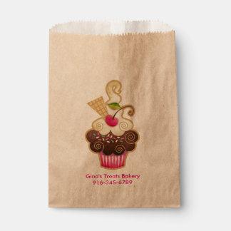 Scrumptious Cupcake Favor Bags Treat Bags Favour Bags