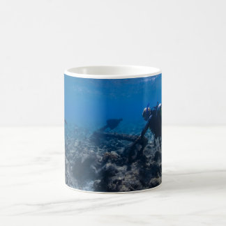 Scuba Diving Excavation Coffee Mug