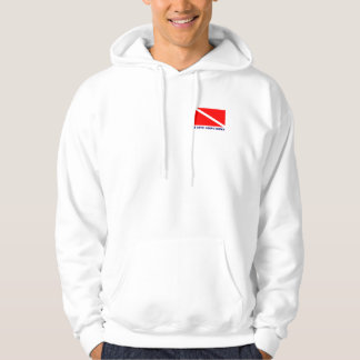 Scuba Diving Hoodie - I LOVE GOING DOWN