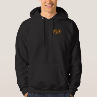 Scuba Diving Hoodies: Sea horses & Anchors Hoodie