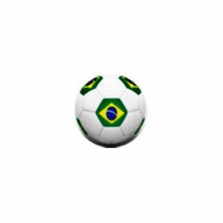 Sculpted Brasil soccer ball Standing Photo Sculpture