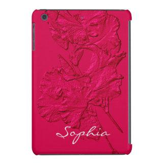 Sculpted Iris Petals, Raspberry-iPad Mini Case