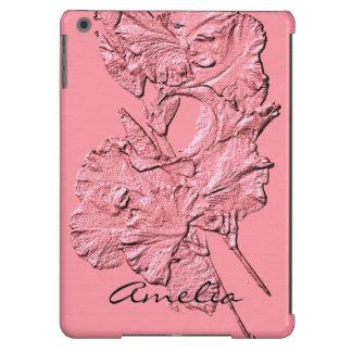 Sculpted Iris Petals, Soft Pink-Ipad Air Case
