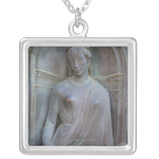 Sculpture on the Duomo in Siena, Italy. Silver Plated Necklace