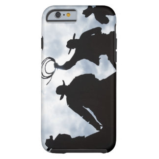 sculpture that welcomes you to Dodge City Kansas 2 Tough iPhone 6 Case