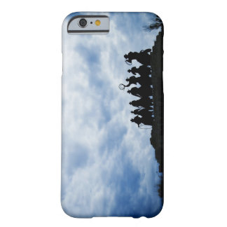 sculpture that welcomes you to Dodge City Kansas Barely There iPhone 6 Case