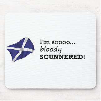Scunnered Mouse Pad