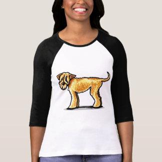 SCWT Wheaten Terrier Full Figured Tshirts
