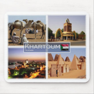 SD Sudan - Khartoum - Mouse Pad