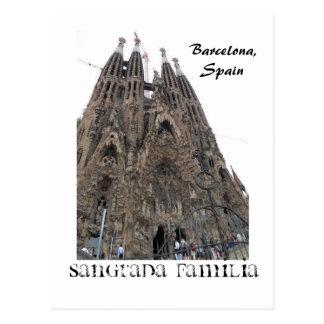 SDC10239, Sangrada Familia, Barcelona, Spain Postcard