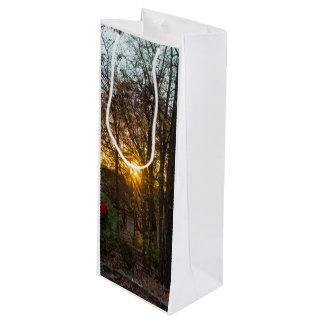 Sdc Woods Sunset Wine Gift Bag