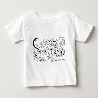 Sea and Star Dragons T Shirt