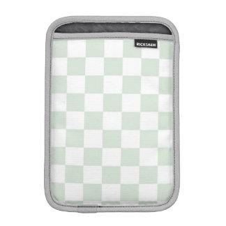 Sea Anemone Gingham Pattern Sleeve For iPad Mini
