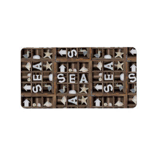 Sea Collection Address Label