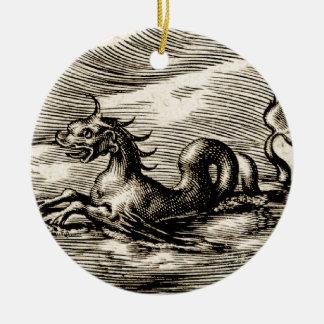 Sea Dragon at the Equator Ornament